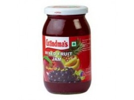 GRANDMAS MIXED FRUIT JAM 500GM BOTTLE