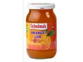 GRANDMAS ORANGE JAM 500GM BOTTLE