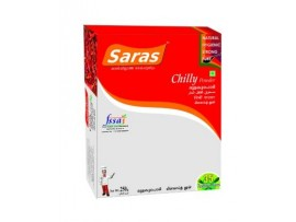 SARAS CHILLI (MULAKU) POWDER 500 GM