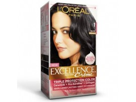 L'OREAL EXCELLENCE HAIR COLOUR 1 BLACK