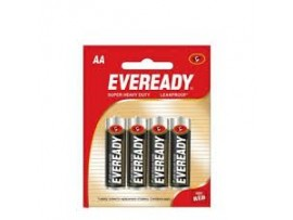 EVEREADY BATTARIES AA 1215 PACK OF 4