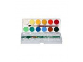 CAMLIN WATER COLOUR CAKES BOX 12 SHADES