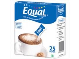EQUAL SWEETNERS SACHETS 25