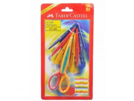 FABER CRAFT SCISSORS 4 CUT