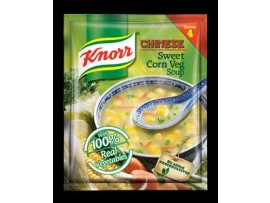 KNORR CHINESE SWEET CORN VEG SOUP 43GM