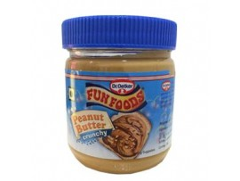FUN FOODS PEANUT BUTTER CRUNCY 340GM