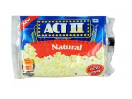 ACT II MICROVAVE POPCORN NATURAL 24GM