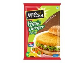 MCCAIN VEGGIE BURGER PATTY 360GM