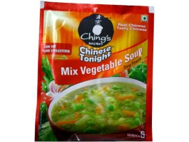 CHINGS MIXED VEGETABLE SOUP 37GM