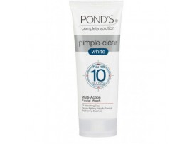 POND'S PIMPLE CLEAR WHITE FACE WASH & SCRUB 50GM