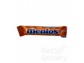PERFETTI MENTOS ORANGE STICK 20.8GM
