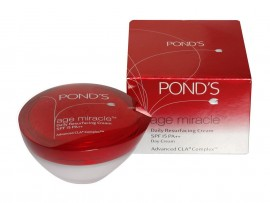 POND'S AGE MIRACLE DAILY RESURFACING CREAM SPF-15 35GM