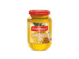 FRUITOMANS PINEAPPLE JAM 100GM