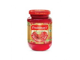 FRUITOMANS STRAWBERRY JAM 500GM