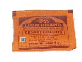TIGER KESARI COLOUR FOOD COLOURS 10GM