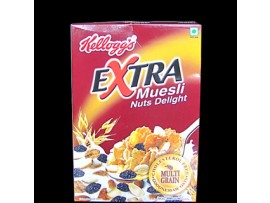 KELLOGG'S EXTRA MUESLI NUTS DELIGHT 550GM