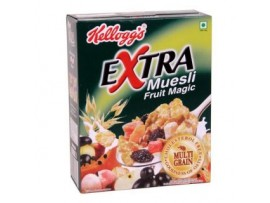 KELLOGG'S EXTRA MUESLI FRUIT MAGIC 275GM