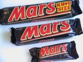 MARS INTERNATIONAL MARS SNACK SIZE 33GM