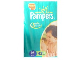 PAMPERS MEDIUM 42'S