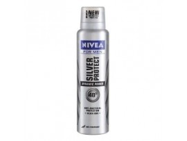 NIVEA FOR MEN SILVER PROTECT DYNAMIC POWDER DEO 150ML