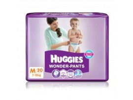 HUGGIES WONDER PANTS MEDIUM 20'S