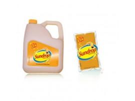 SUNDROP GOLDLITE SUNFLOWER OIL 5L JAR