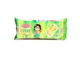 BRITANNIA CAKE PINEAPPLE 65GM