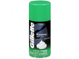 GILLETTE REGULAR IDEAL FOR MENTHOL SHAVING FOAM