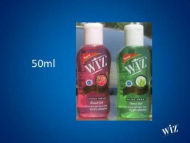 WIZ SANITIZER ALOE VERA 50ML
