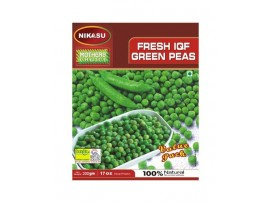 NIKASU FRESH GREEN PEAS 200GM