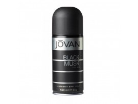 JOVAN BLACK MUSK MENS DEO BODY SPRAY 150ML