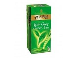TWININGS GREEN TEA EARL GREY 25S TEA BAG