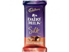 CADBURY DAIRY MILK ROAST ALMOND 60GM FLOW PACK