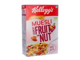 KELLOGGS MUESLI CRNCHY FRT&NUT 550GM
