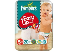 PAMPERS EASY UPS LARGE 20'S