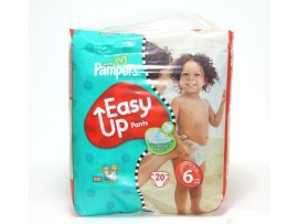 PAMPERS EASY UPS XTRA LARGE 20'S