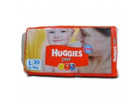 HUGGIES LARGE 30'S