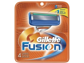 GILLETTE FUSION RAZOR BLADE CARTRIDGES 4S
