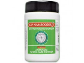 K.P.NAMBOODIRI'S DANTCHOORNAM AYURVEDIC TOOTH CARE POWDER 40GM