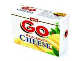 GOWARDHAN GO PROCESSED CHEESE SLICE PLAIN 200GM