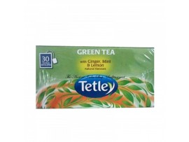 TETLEY GREEN GINGER MINT LEMON TEA BAG 30S