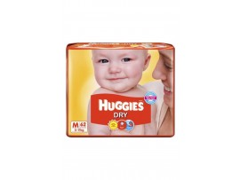 HUGGIES NEW DRY MEDIUM 4x62N RL