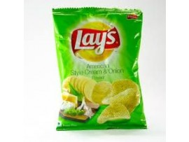 LAYS AMERICAN ST CRM & ONION 89GM