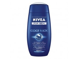 NIVEA FOR MEN SHOWER GEL COOL KICK 250ML