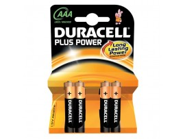 DURACELL BATTARES ALKALINE AAA PACK OF 2