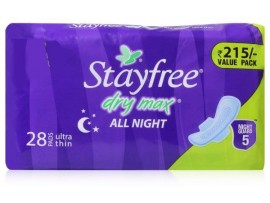 STAYFREE DRYMAX ULTRA THIN ALL NIGHT 28'S PAD