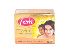 FEM FAIRNESS GOLD CREAM BLEACH 24GM