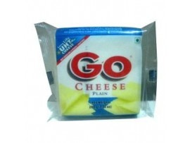 GOWARDHAN GO PROCESSED CHEESE SLICE PLAIN 100GM