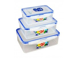 LOCK N FRESH PLASTIC CONTAINERS 0 RECTANGLE