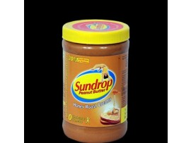 SUNDROP PEANUT BUTTER HONEY ROAST CREAMY 462GM